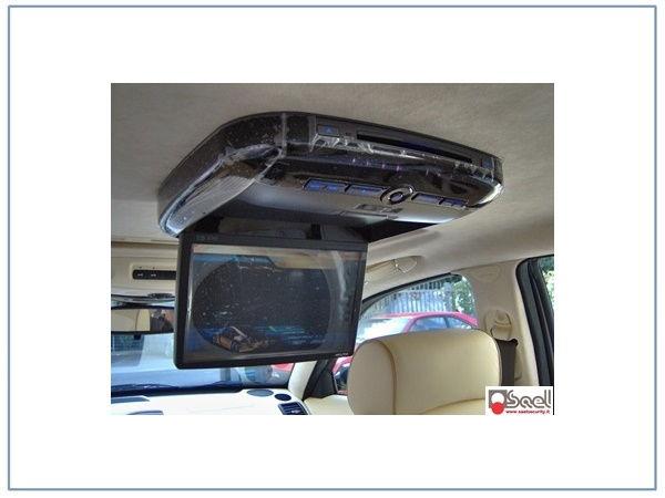 maserati quattroporte monitor tetto