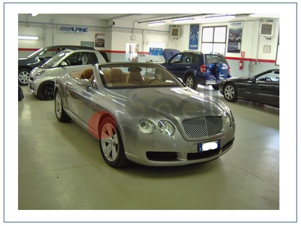 antifurto satellitare bentley continental gtc