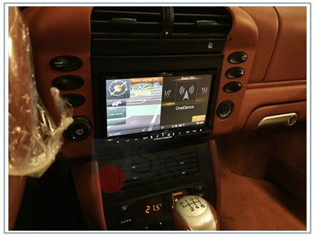 navigatore porsche carrera 996
